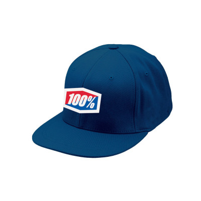 GORRA 100% ICON 210 (AZUL)