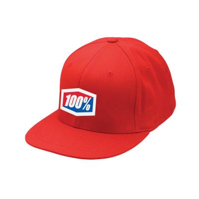 GORRA 100% ICON 210 (ROJA)