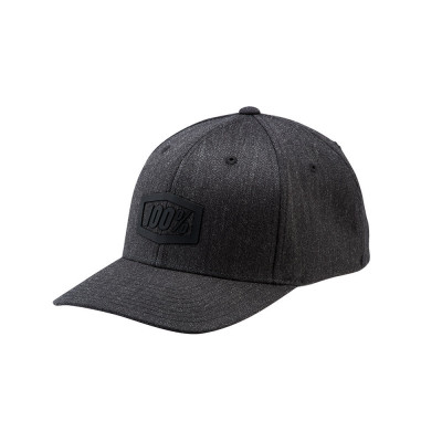 GORRA 100% TREK FLEXFIT (CHARCOAL HEATHER)