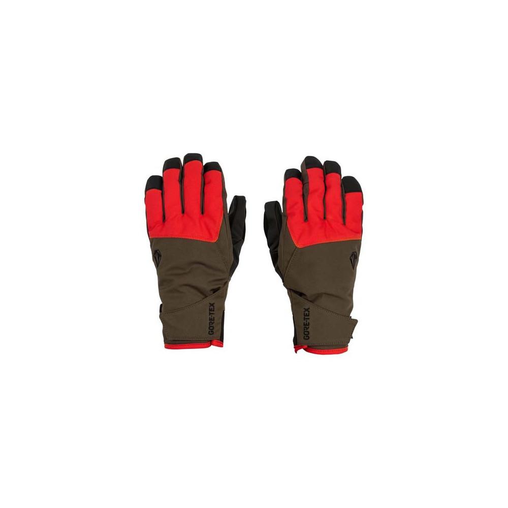 Guantes de nieve CP2 GORE-TEX Hombre Rojo