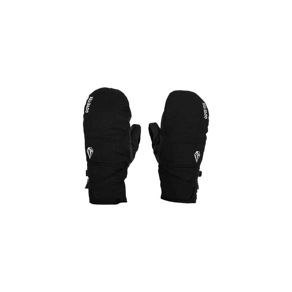 Manoplas de nieve Volcom Stay Dry GORE-TEX Hombre Negro