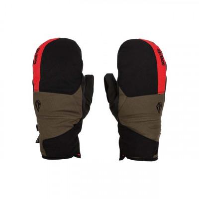 Guantes de nieve Volcom Stay Dry GORE-TEX Mitt Hombre Rojo