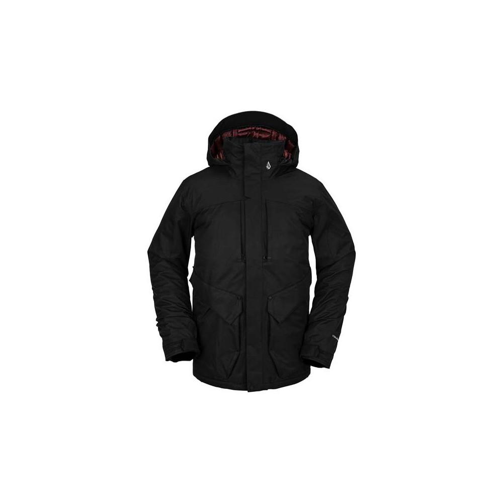 Cazadora de nieve Volcom Anders 2L TDS Hombre Negro 2021