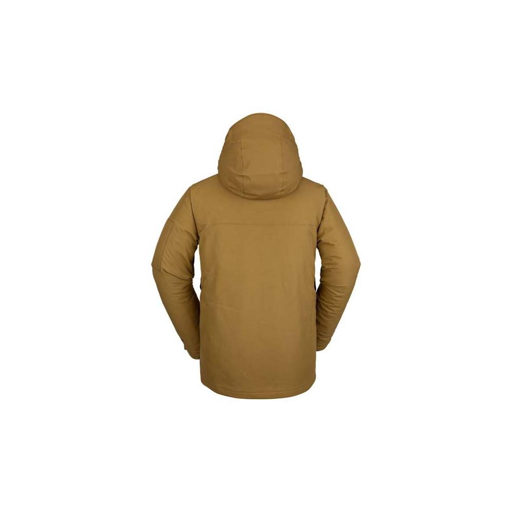 Cazadora de nieve Volcom  Scortch Insulated Hombre Burnt Khaki 2021
