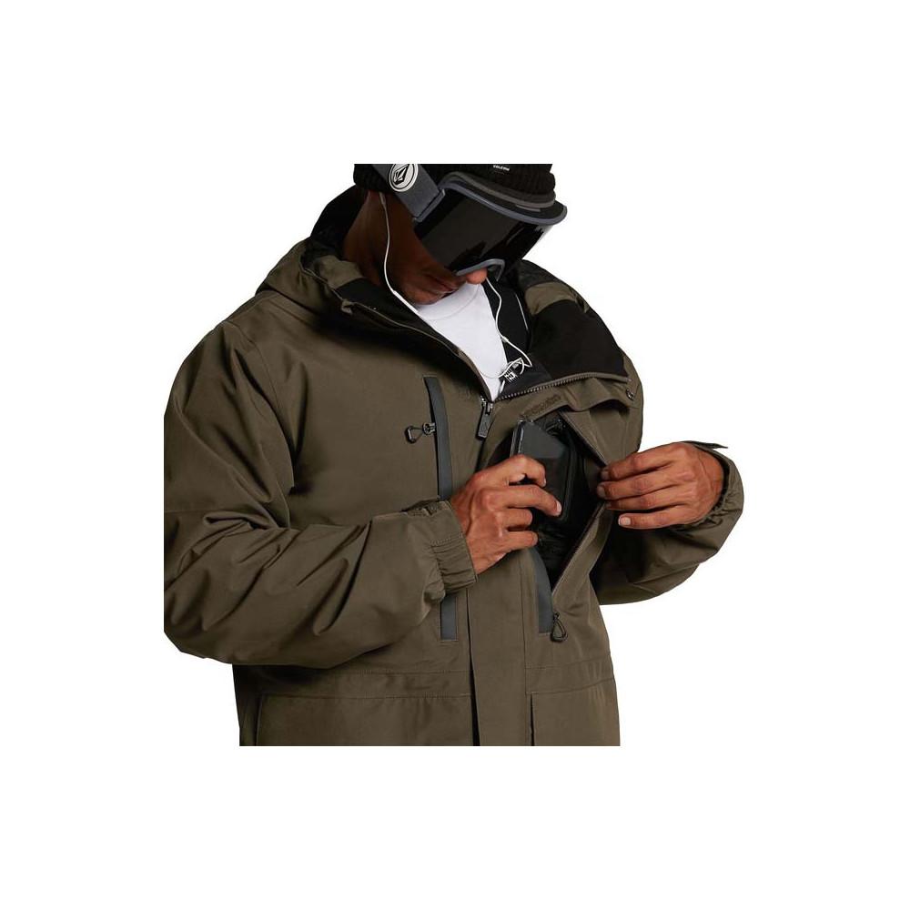 Cazadora de nieve Ten Insulated GORE-TEX Hombre Black Military 2021