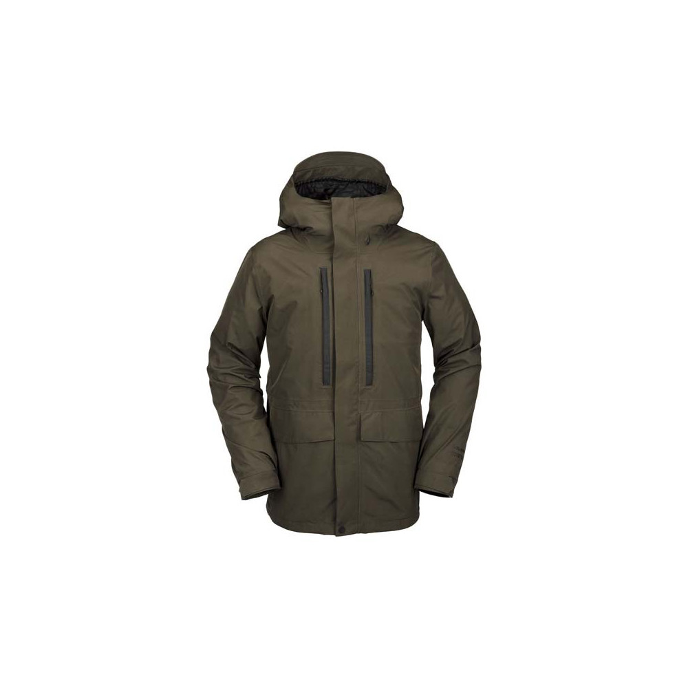Cazadora de nieve Ten Insulated GORE-TEX Hombre Black Military 2021