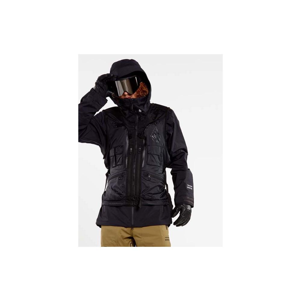 Cazadora de Nieve Sans Manche Iguchi Slack Hombre Negro 2021