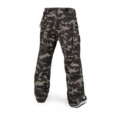 Pantalón de nieve Volcom V-Co Hunter Hombre Army