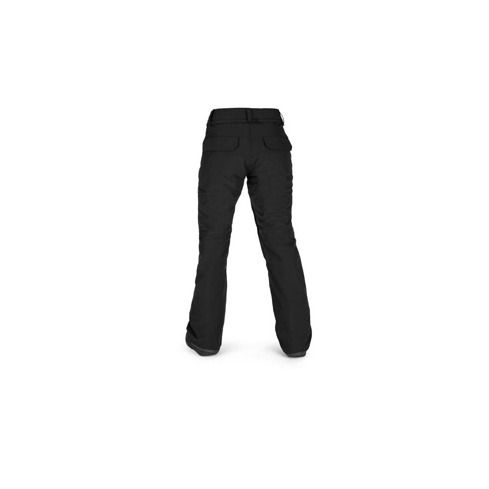 Pantalón de nieve Volcom Knox Insulated GORE-TEX Mujer Negro 2021