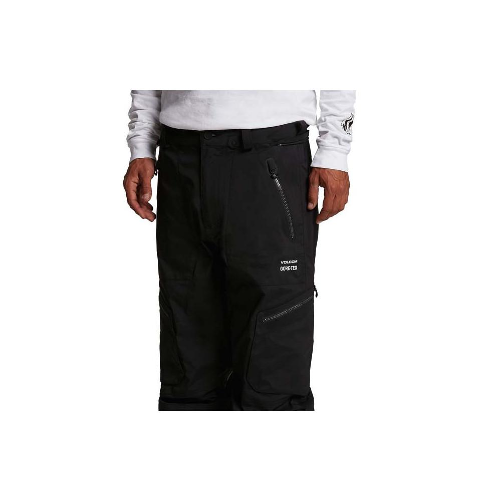 Pantalón de nieve Volcom Guch Stretch GORE-TEX Hombre Negro 2021