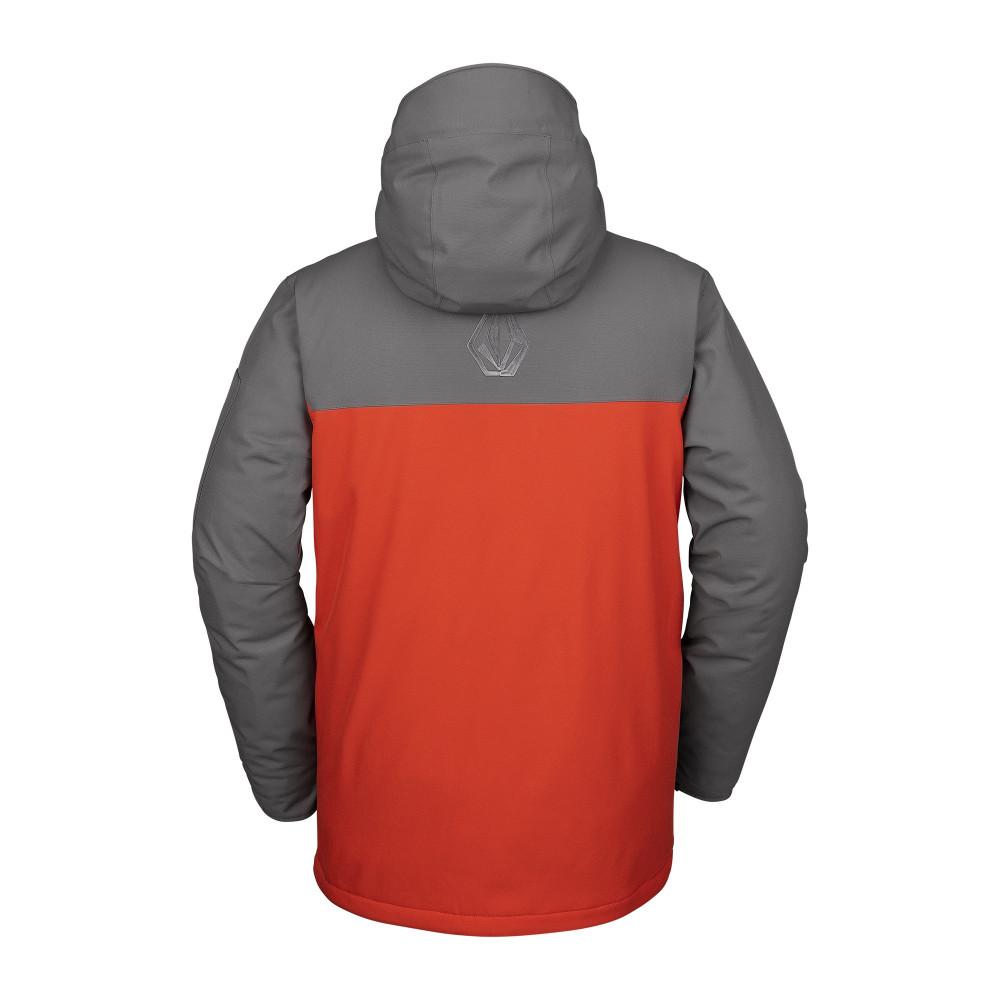 Volcom Scortch Ins Jacket Orange Chaqueta Snowboard Hombre 2020