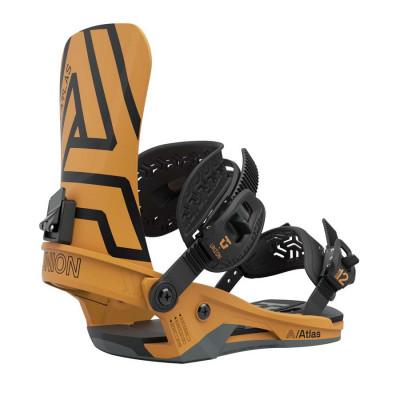 Union Atlas Fijación Snowboard Hombre Mustard Yellow 2021