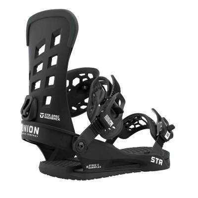 Union STR Fijación Snowboard Hombre Negro 2021