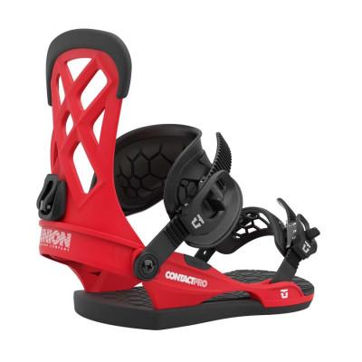 Union Contact Pro Fijación Snowboard Hombre Rojo 2021