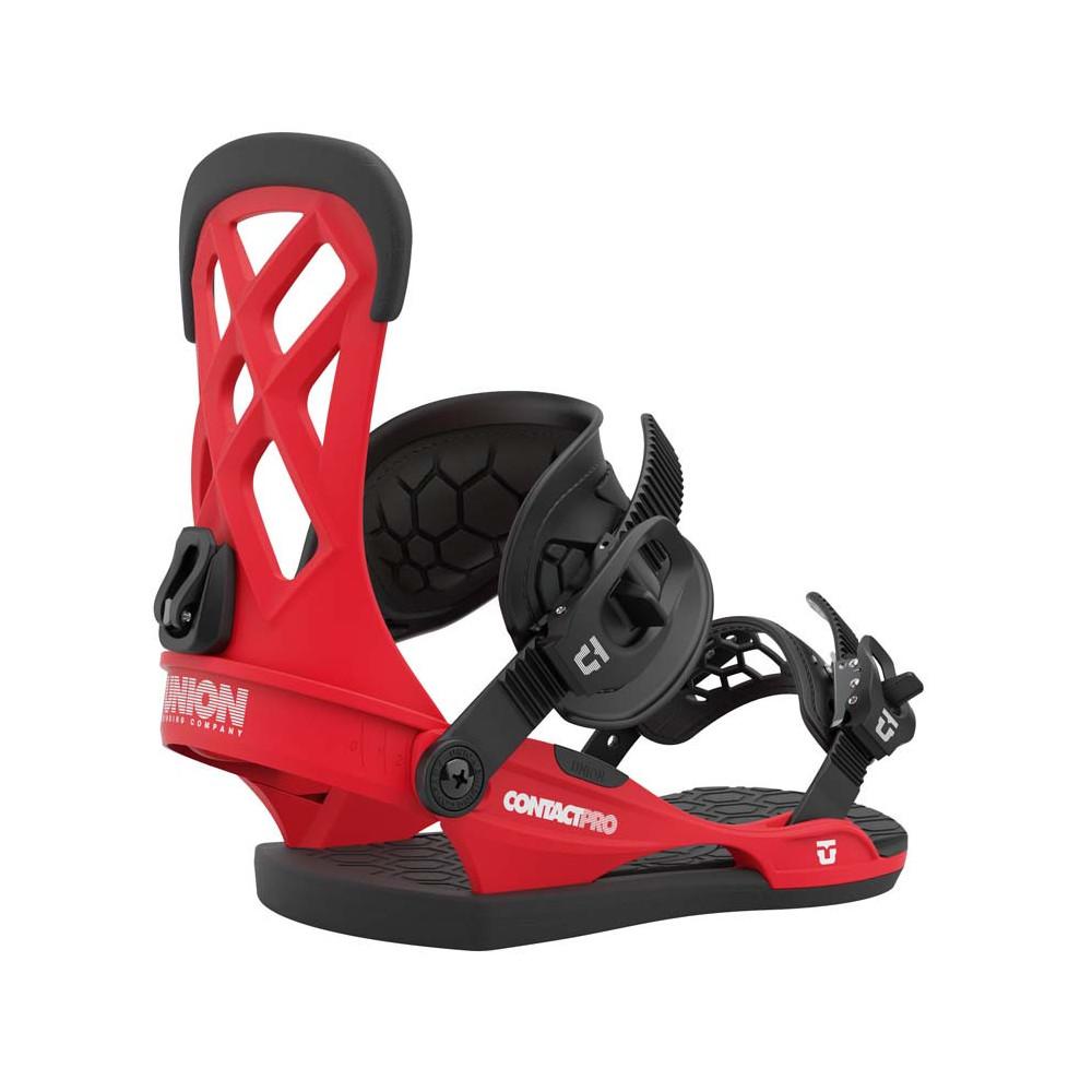 Union Contact Pro Fijación Snowboard Hombre Red 2021