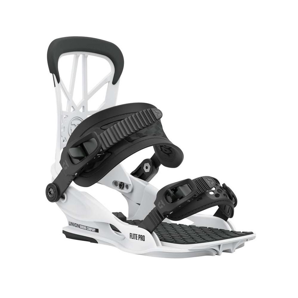 Union Flite Pro Fijación Snowboard Hombre White 2021