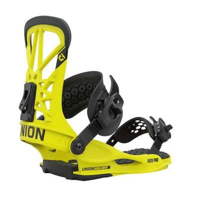 Union Flite Pro Fijación Snowboard Hombre Hazard Yellow 2021