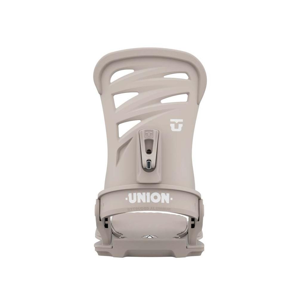 Union Rosa Fijación Snowboard Mujer Warm Grey 2021