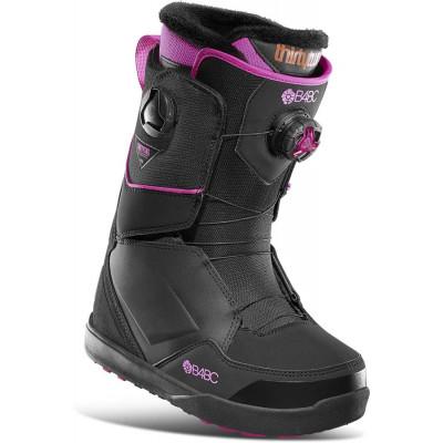 ThirtyTwo Lashed Double Boa Women´s B4BC Bota Snowboard Mujer Negro/Rosa 2021