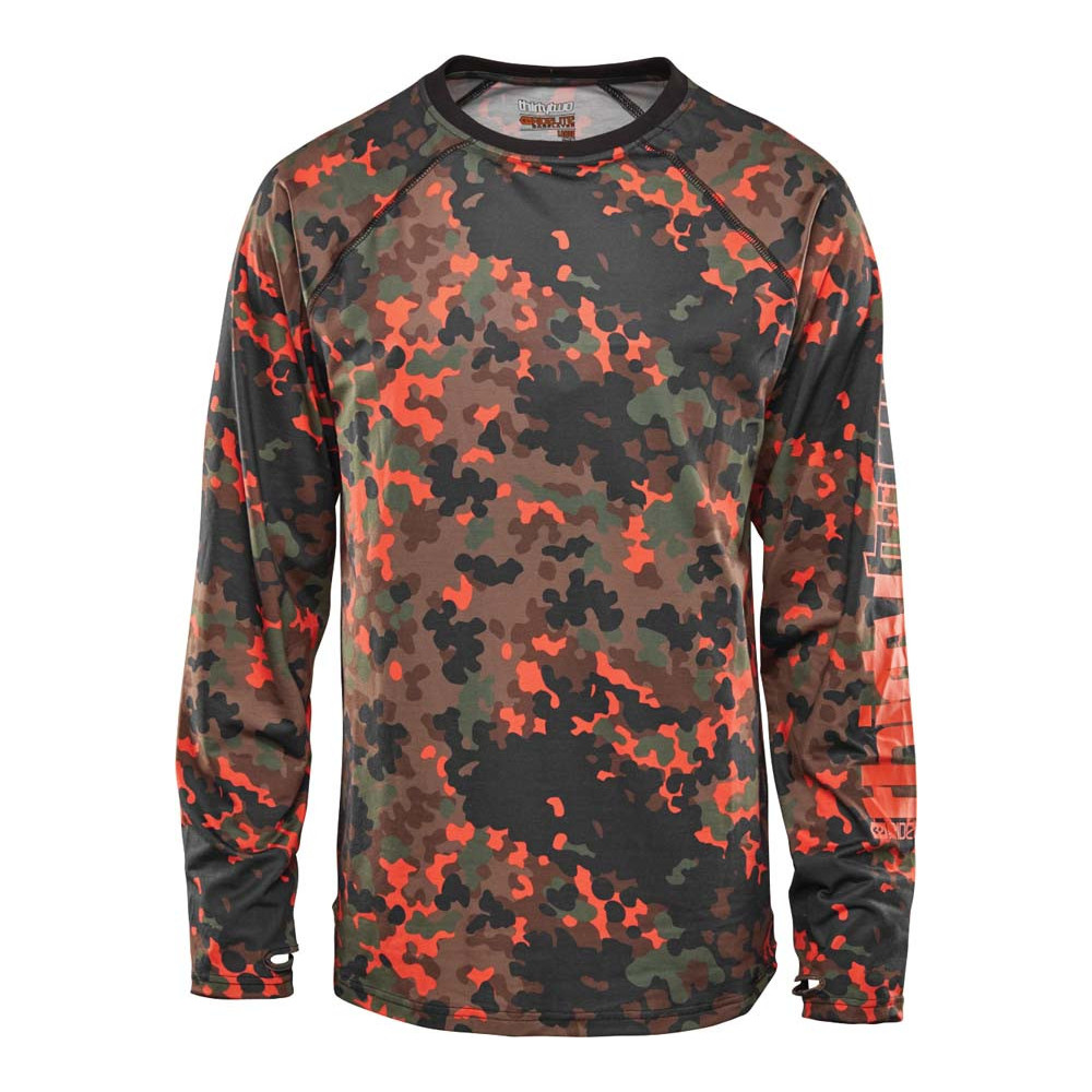 ThirtyTwo Ridelite L/S Camiseta térmica Snowboard Camo Hombre 2021