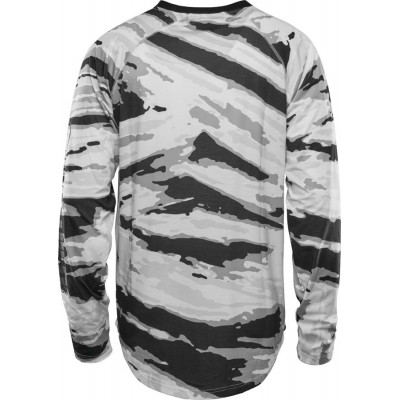 ThirtyTwo Ridelite L/S Camiseta térmica Snowboard Blanco Camo Hombre  2021