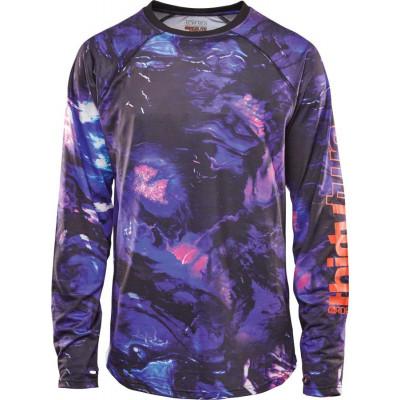 ThirtyTwo Ridelite L/S Camiseta térmica Snowboard Azul Hombre 2021