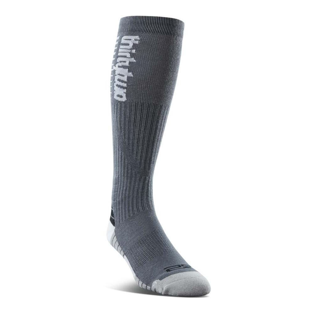 ThirtyTwo TM Merino Calcetines Snowboard Hombre Charcoal 2021