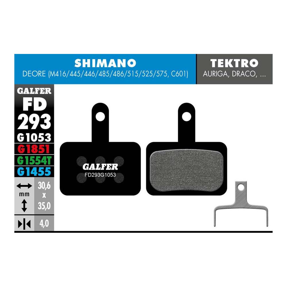 GALFER BIKE STANDARD BRAKE PAD SHIMANO DEORE - FD293G1053