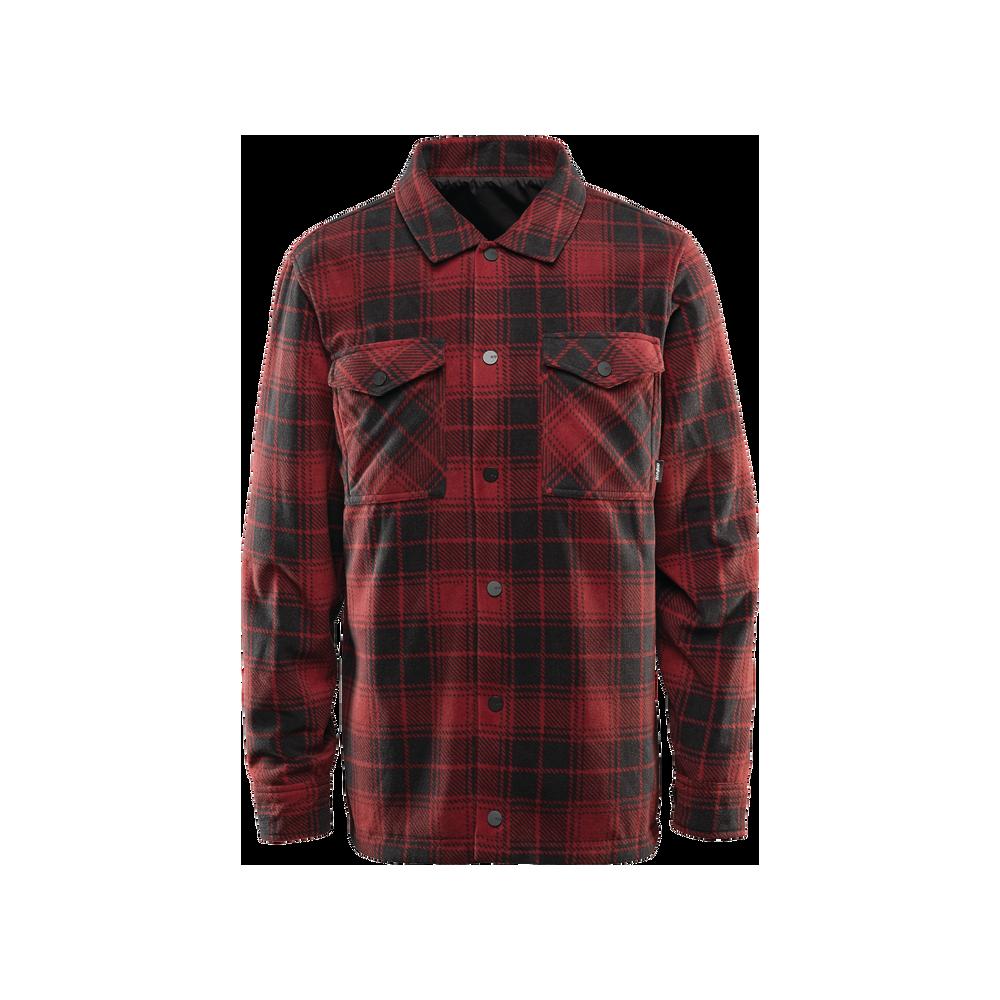 ThirtyTwo Drifter Fleece Black/Red Camisa Snowboard Hombre 2020