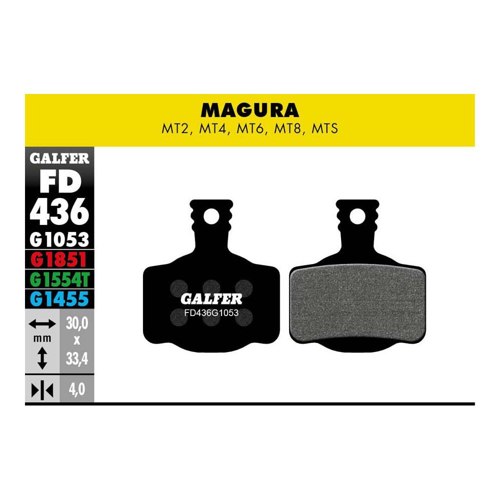 GALFER BIKE STANDARD BRAKE PAD MAGURA MT2-4-6-8 - FD436G1053