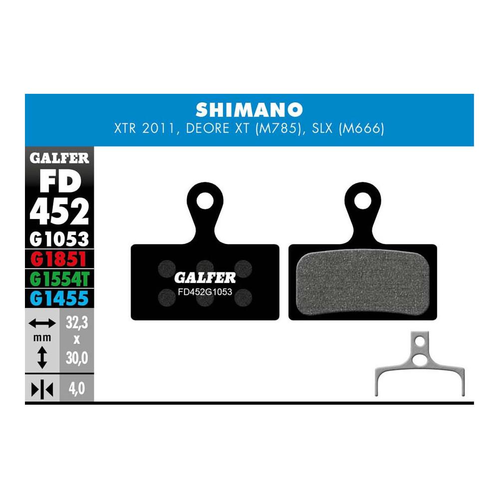GALFER BIKE STANDARD BRAKE PAD SHIMANO XTR - SLX - FD452G1053