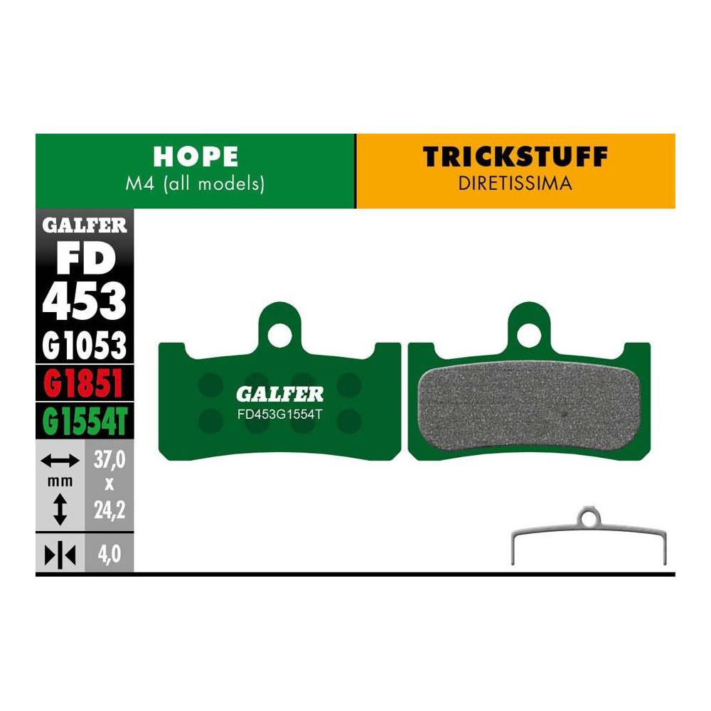 GALFER BIKE PRO BRAKE PAD HOPE M4 - FD453G1554T