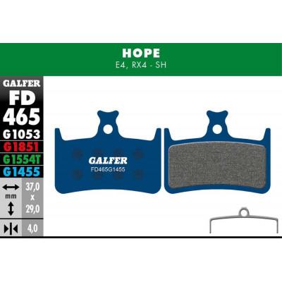 GALFER BIKE ROAD BRAKE PAD HOPE RX4 - FD465G1455