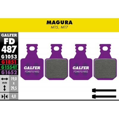 GALFER E-BIKE BRAKE PAD MAGURA MT5 - MT7 - FD487G1652
