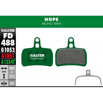 GALFER BIKE PRO BRAKE PAD HOPE MONO MINI - FD488G1554T