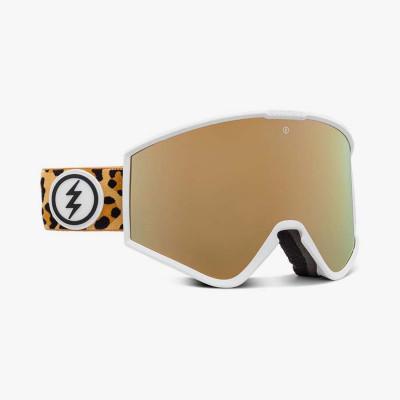 KLEVELAND LEOPARD/BRGD_+BL, gafa de esqui electric, gafas de nieve electric