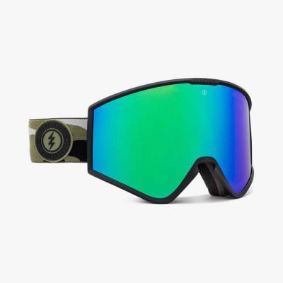 KLEVELAND CAMO/BRGC_+BL, gafa de esqui electric, gafas de nieve electric