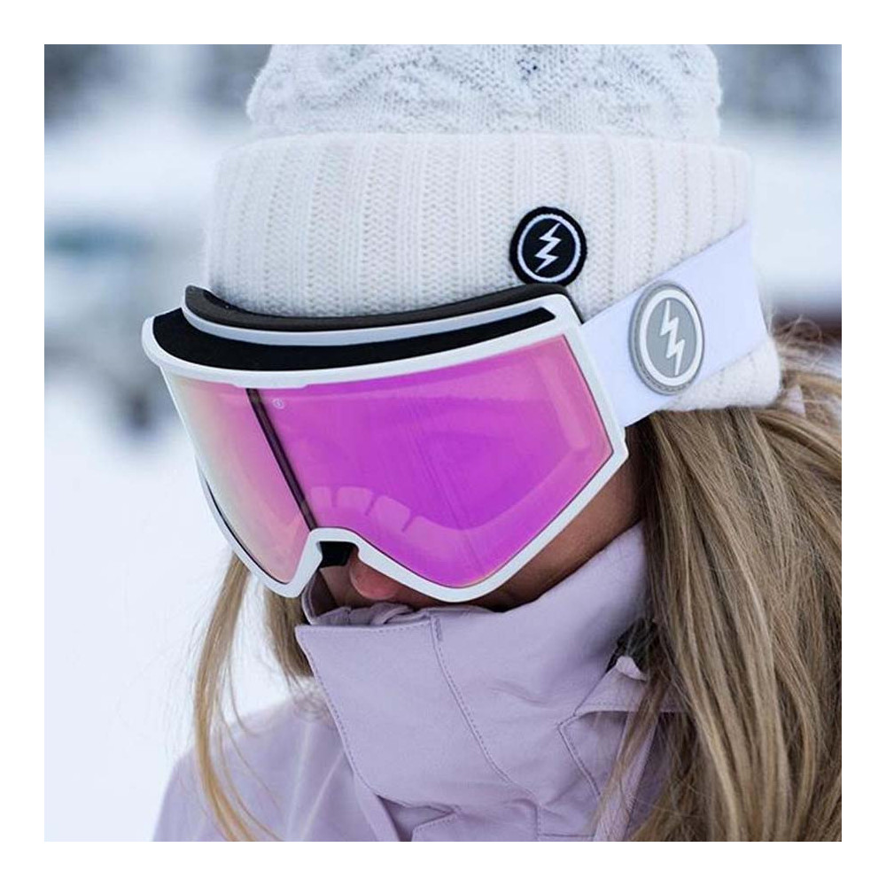 Electric KLEVELAND+ MATTE WHITE Gafa de Esquí Hombre 2020