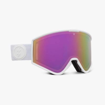KLEVELAND+ MATTE WHITE, gafa de esqui electric, gafas de nieve electric