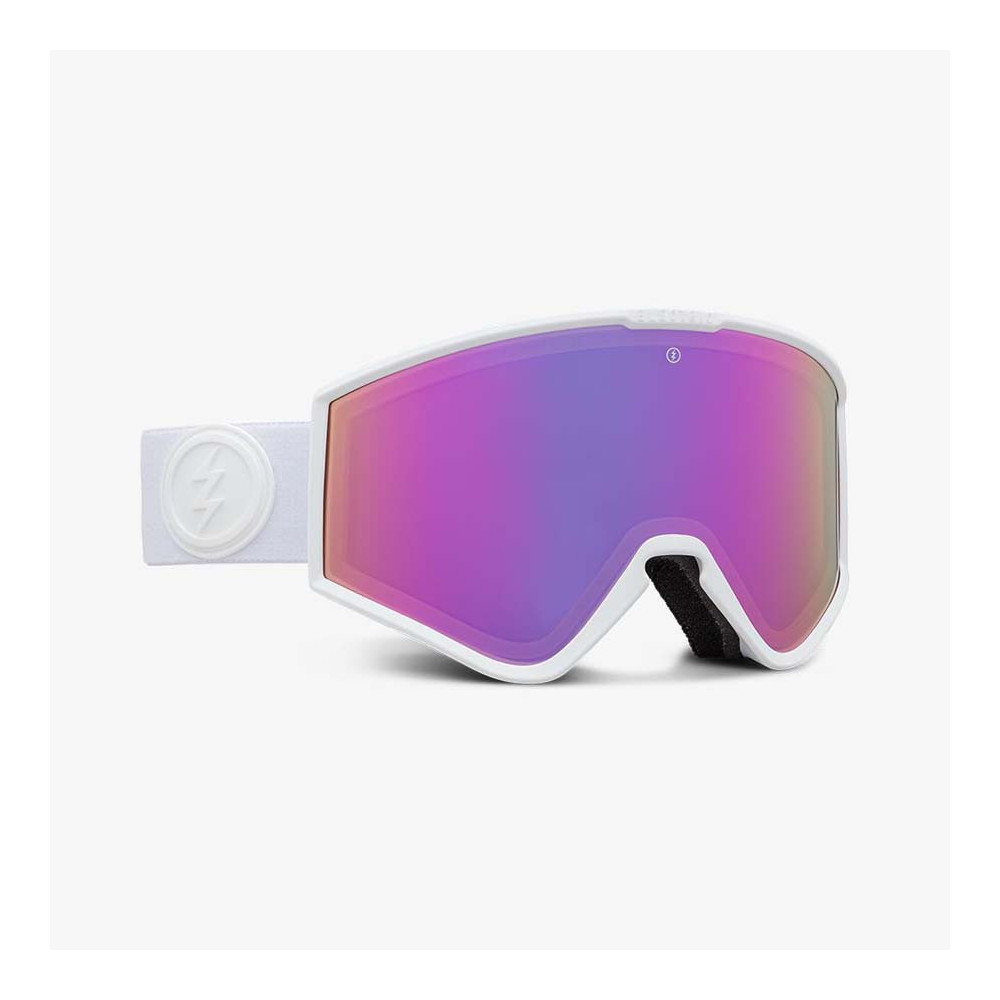 KLEVELAND SMALL MATTE WHITE, gafa de esqui electric, gafas de nieve electric