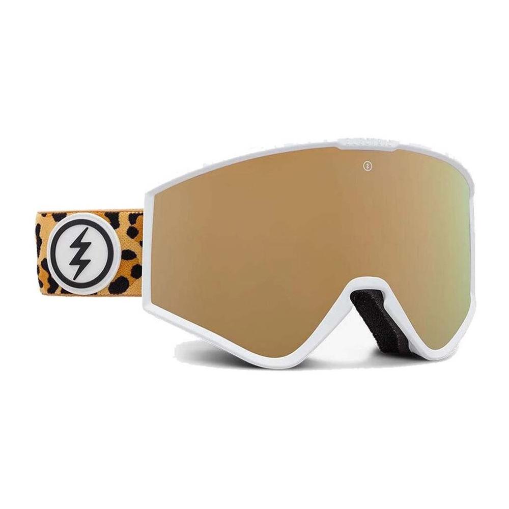 KLEVELAND SMALL LEOPARD, gafa de esqui electric, gafas de nieve electric