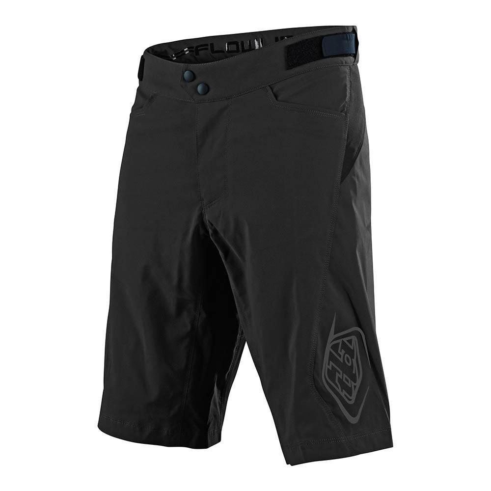 Troy Lee Flowline Short Black pantalón corto bicicleta