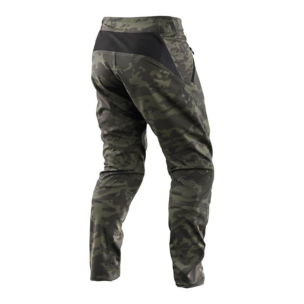 Troy Lee Skyline Pant Camo Green pantalón largo bicicleta
