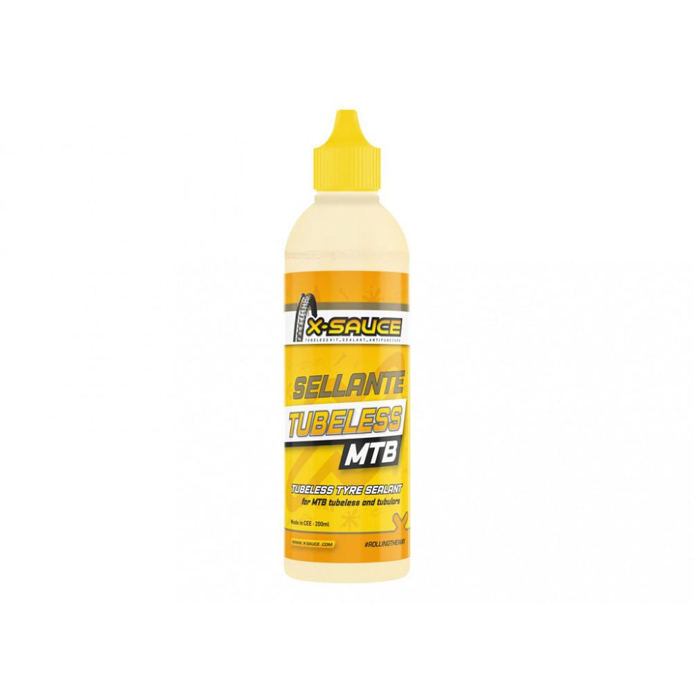 Líquido sellante para Tubeless MTB X-Sauce 200ml
