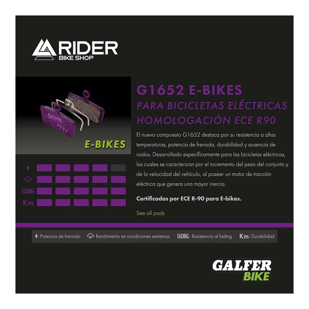 GALFER E-BIKE BRAKE AVID CODE R (11-) - FD455G1652