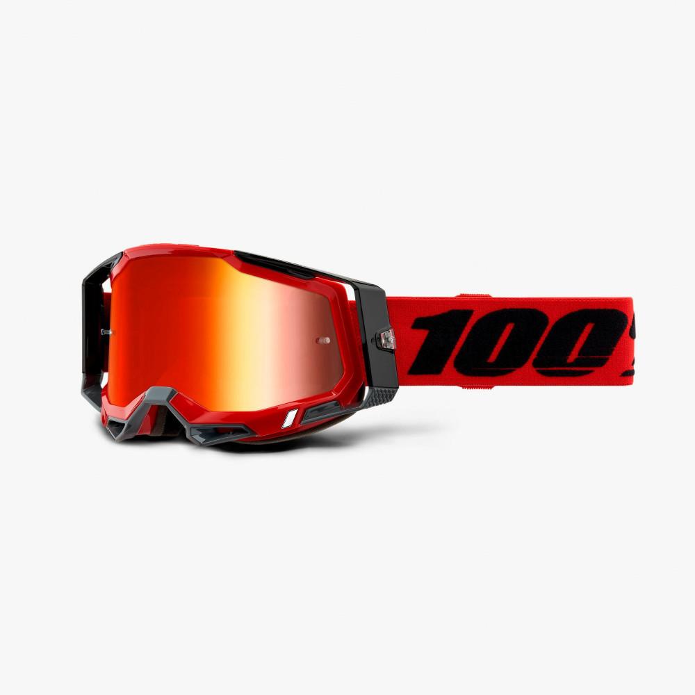 Máscara bicicleta 100percent RACECRAFT 2 Goggle Red