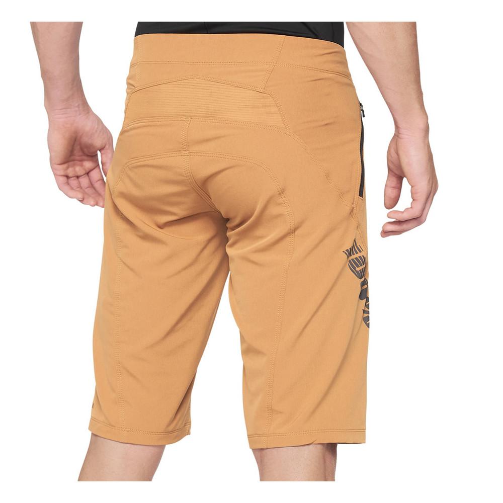 Pantalón bicicleta 100% AIRMATIC Shorts Caramel