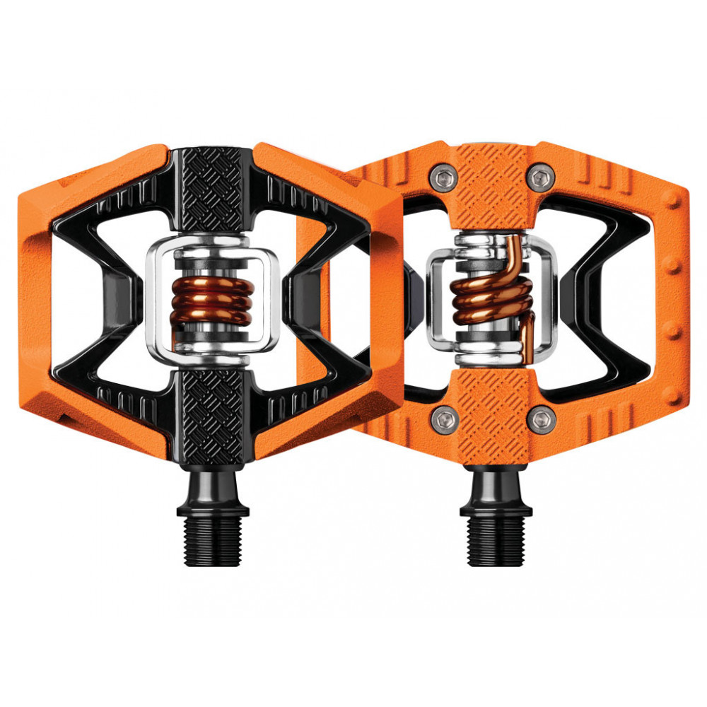 Pedales automáticos Crankbrothers Doubleshot 2 Naranja  - www.laridershop.com