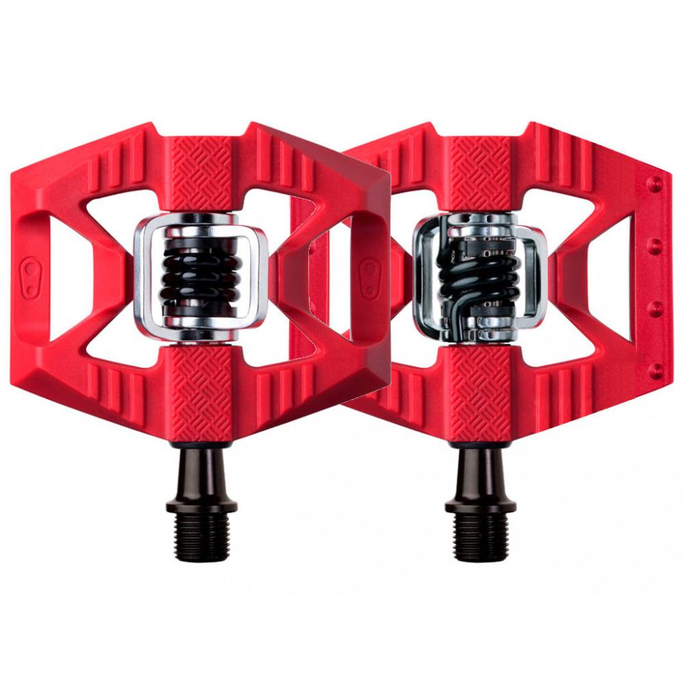 Pedales automáticos Crankbrothers Doubleshot 1 Rojo  - www.laridershop.com