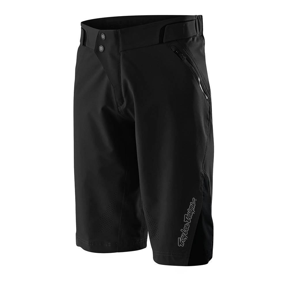 Troy Lee Ruckus Short Black pantalón corto bicicleta con Badana
